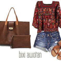 Bolsa Merida!!! combina perfecto con tu estilo esta Primavera. #hechoenmexico #bolsodepiel #hechoamano #estilo #modafemenina #funcionalidad #comodidad #calidad #boho #style #leatherhandbag #love #fashion #quédicetucorazón?