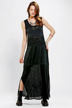 We All Shine By MINKPINK Angel Drop Maxi Dress  #urbanoutfitters
