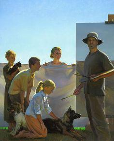 Larson Family Portrait Jeffrey T. Larson - Fine Artist -  - Jeff Larson
