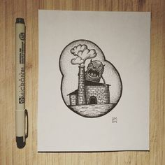 #tattoartist #tattoo #moscow #monster #wood #blackandwhite #blackwork #dotwork #dotworktattoo #micron #factory #татуировка #тату #дотворк #татуировщик #монстр #рисунок #art by dopinguin