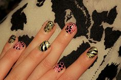 Mixed Animal Print - if only I could get away with this at work!