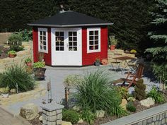 71 Besten Gartenhauser Schwedenrot Bilder Auf Pinterest Nice Asses