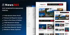 News365 v1.5 – PHP Newspaper Script Magazine Blog with Video Newspaper – Nulledcodelist.com
