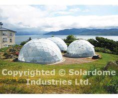 geo dome   ... geodesic domed greenhouse solardome butterfly world solardome geodesic