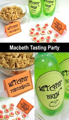 Macbeth Tasting Part