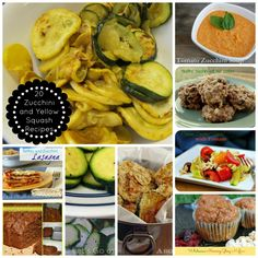 Twenty Zucchini And Yellow Squash Recipes