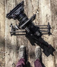 Beautiful shot here of a RED on a Rhino slider by @mikaikarl by film.rev