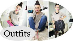 How to style a sweatshirt! Ich zeige euch in diesem Video 3 unterschiedliche Looks mit einem basic Sweater!