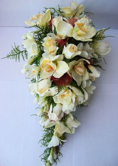 pictures of Artificial Bridal Bouquets