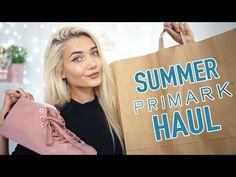HUGE SUMMER PRIMARK HAUL + GIVEAWAY! - YouTube
