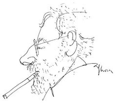 Line Drawing, Drawing Sketches, Alvar Aalto, Caricature, How To Draw Hands, Sculptures, 1, Fine Art, Portrait