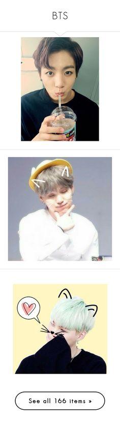 """""""BTS"""" by princess-malik-styles ❤ liked on Polyvore featuring bts, jungkook, bts - jungkook, people, kpop, bts - namjoon, suga, yoongi, bts - suga and fillers"""