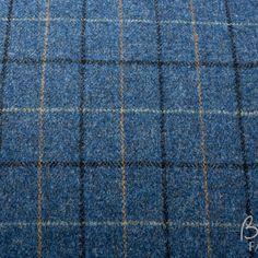Harris Tweed Tabert Sky | Butternut Fabrics Caravan Upholstery, Outer Hebrides, Harris Tweed, Famous Brands, Hand Spinning, Hand Weaving, Old Things, Fabrics, Sky