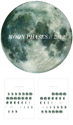 Moon Phases 2012