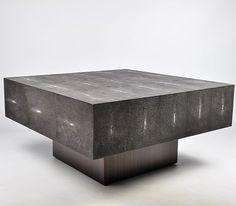 Ginger Brown France,galuchat,shagreen furniture | Coffee tables