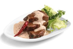 Filete de res en salsa de frijol y chile de árbol - Recetas de carne - Comida - Recetas - Philadelphia