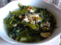Sayur Kangkung Kuah Bening/Resep masakan Indonesia