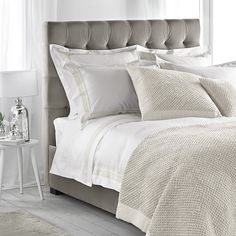 Richmond Bed Velvet - 2 Colours from The White Company