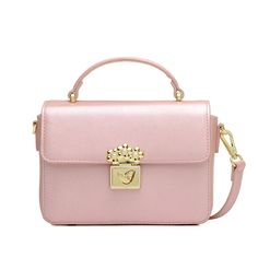 6166bf3e8284 2016 New Fashion Women Candy Color Handbags Leather PU Solid Flap Totes  Pink Bag Handbag Lady Shoulder Crossbody Messenger Bags