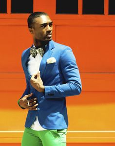 men's fashion color. Is it ever too bold?