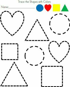 Printable Shapes | printable Shapes coloring pages and sheets can be ...