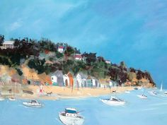 'Bathing Boxes, Sorrento' by Stephen Phillis www.artpublishing.com.au