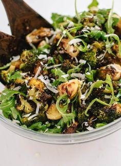 Roasted Broccoli, Arugula and Lentil Salad Recipe