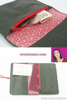 Dark green leather wallet, men wallet purse, leather wallet fold card holder�