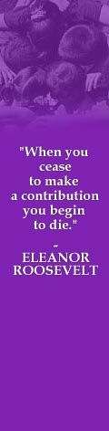 Eleanor Roosevelt would have bought an Aquavation bottle that Gives Back! We are sure of it! http://aquavation.org