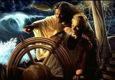 let Jesus be the captain of your life..Let him steer you into the righteous path..