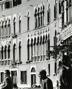 Paolo Monti Scorcio della facciata di Palazzo Soranzo Venezia 1969
