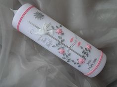 Boy Baptism, Christening, Yellow Roses, Pink Roses, Baptism Candle, Rosa Rose, Get The Job, Love Flowers, Etsy