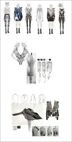 namma rietti knited textiles fashion design sketchbook