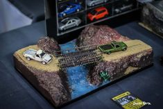 Amazing scale diecast custom cars on display at the Thai Custom Model Festival