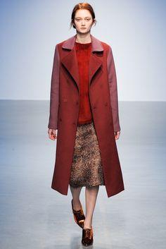 Richard Nicoll Fall 2014 Ready-to-Wear - Style.com