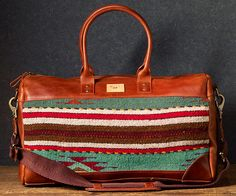 The Oaxacan Leather Duffle Is Our Favorite Spring Duffle | https://willleathergoods.com/shop/men/mens-bags/mens-duffles/oaxacan-duffle/