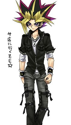 Yami yugi! I love him in this outfit!