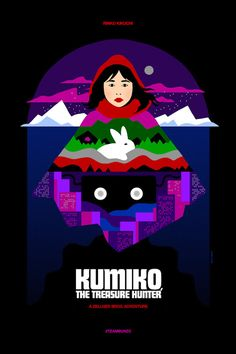 Exclusive: Gorgeous Poster For 'Kumiko, The Treasure Hunter' Starring Rinko Kikuchi Plus Win The One Sheet Home Disney Movie, Disney Movie Posters, Best Movie Posters, Film Posters, Poster Frames, Polish Movie Posters, Music Posters, Mad Max, Kumiko The Treasure Hunter