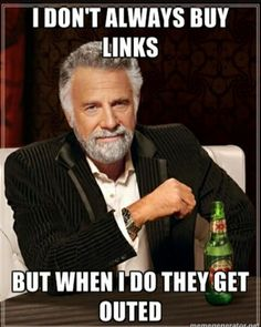 #searchmarketing #searchengineoptimization #seo - Do not ever buy links! Doing so is a good way to get penalized by google.  Links must be built naturally and the correct way by maximus_internet_marketing
