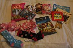 Christmas Eve Surprise Box:  Include a new movie, pajamas, popcorn, hot chocolate, marshmallows, Christmas book