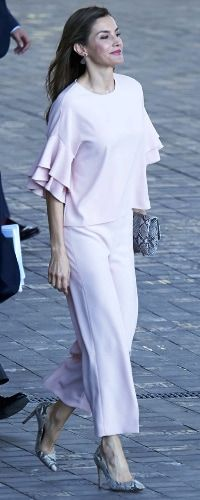 4 Jul 2017 - Queen Letizia attends meeting with FAD