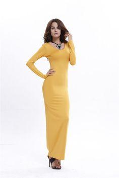 Cheap Maxi Dresses, Skater Dresses, Dresses Dresses, Fall Dresses, Long Dresses, Dress Long, Hobble Skirt, Dress Silhouette, Online Dress Shopping