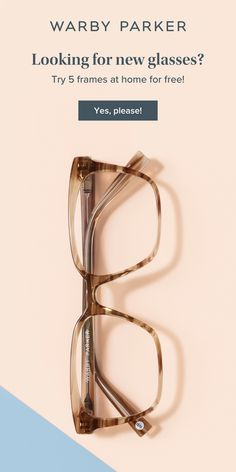 We'll ship your favorite eyeglasses and sunglasses right to your door, then you'll have 5 days to get acquainted. Take our style quiz to get started. Cute Glasses, New Glasses, Glasses Frames, Fashion Eye Glasses, Warby Parker, Black Women Fashion, Womens Fashion, Louis Vuitton Handbags, Pretty Dresses