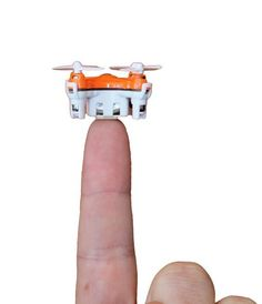 World's Smallest Quadcopter