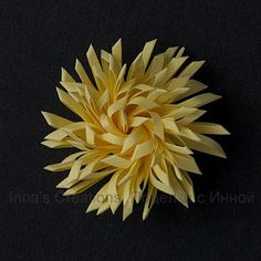 How to make double fringed flowers   (version2) (shown at bottom of tutorial)