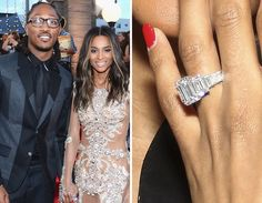 Celebrity Wedding & Engagement Bling | TooFab Photo Gallery