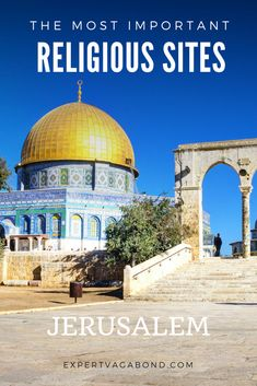 Jerusalem is one of the oldest & holiest cities in the world, home to important religious sites for Muslims, Jews, and Christians. These are the most sacred ones. Travel Guides, Travel Tips, Travel Plan, Travel Pictures, Travel Photos, Eastern Travel, Places To Travel, Travel Destinations, Israel Travel