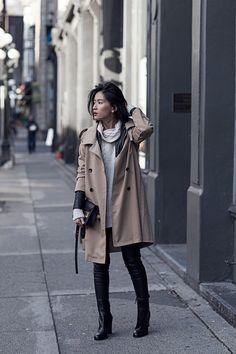 STYLE GUIDE | MARGIELA MILITIA CHIC by Claire Liu of Von Vogue
