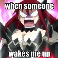 Fairy Tail Erza memes - Google Search                                                                                                                                                      More
