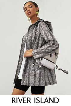 Women's new clothes from River Island - get this season's latest arrivals from your favourite high street store. Shop the full collection online. New Outfits, River Island, Backpack, Bell Sleeve Top, Jackets, Clothes, Shopping, Collection, Tops